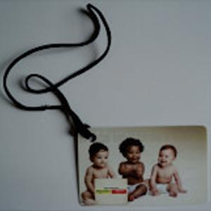 sevencard - Tags de bagagem com gravação personalizável.