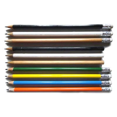 Lápis com borracha e sem borracha - Estilo Brindes