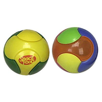 estilo-brindes - Bola personalizada desmontável - Em cores sortidas - Com gravação em 1 cor.