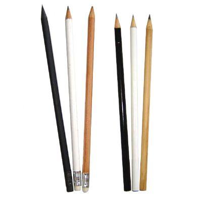 estilo-brindes - Lápis personalizado com e sem borracha - Com gravação em serigrafia.