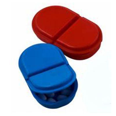 estilo-brindes - Porta comprimidos com 2 divisões