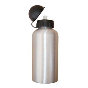 estilo-brindes - Squeeze personalizado metálico - 500 ml - Com gravação em serigrafia ou cromia.