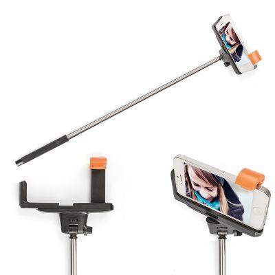 Creative Design - Monopod fotográfico para aumentar a distância entre o celular e o operador. Acionamento da câmera por bluetooth. Estende até 1 metro.