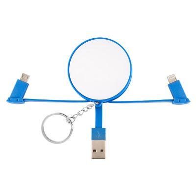 Creative Design - Chaveiro adaptador USB com 2 saídas