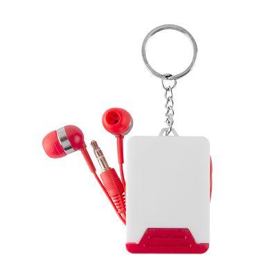 creative-design - Chaveiro com fone de ouvido intra-auricular.