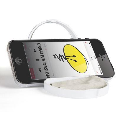 Creative Design - Espelho de bolsa com suporte de celular