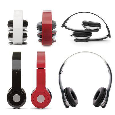 Creative Design - Fone de ouvido (headphone) dobrável com fio e controle de volume.