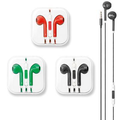 creative-design - Fone de Ouvido com Fio e Controle de Volume.