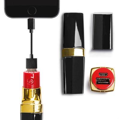 Creative Design - Bateria Portátil de 2.200 mAh com cabo USB/micro USB e Design exclusivo - 25x25x100mm.