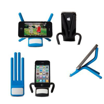 Creative Design - Suporte de celular para mesa - Articulável e Emborrachado - 130x50mm.