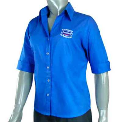 Camisa Social Feminina - Ledmark Produtos Promocionais