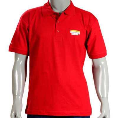 Camisa Pólo em Malha de Algodão