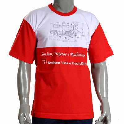 Camiseta Silkada com Recorte Especial