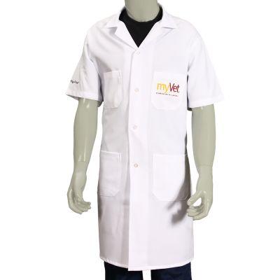 ledmark-produtos-promocionais - Jaleco confeccionado em tecido profissional