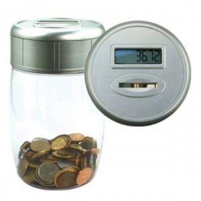 luarc-brindes - Cofre contator de moedas