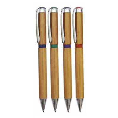 liga-promocional - Caneta de bambu ecológica personalizada