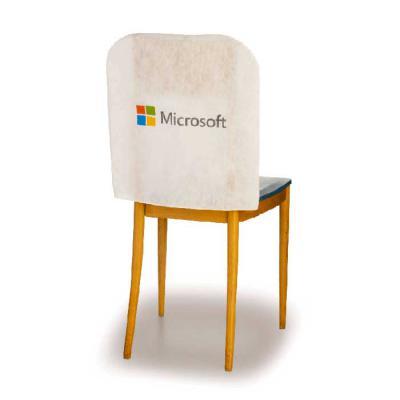 Embalabrindes - Capa de Cadeira de TNT Branco