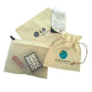 embalabrindes - Embalagens personalizadas em tela e tecido de algodão.