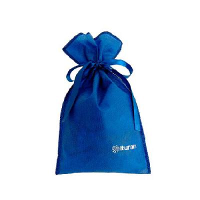 embalabrindes - Saco de TNT Azul