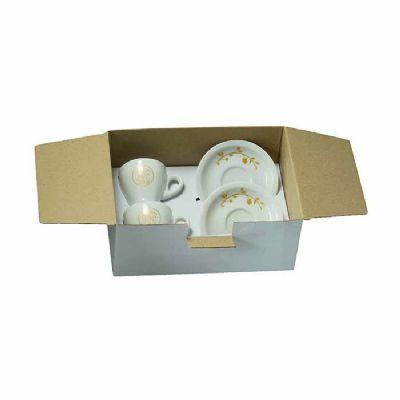 D.Kore Porcelanas - Kit xícara de café com pires