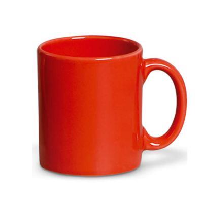 d-kore-porcelanas - Caneca reta 380 ml vermelha