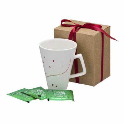 d-kore-porcelanas - Kit Caneca e Chá