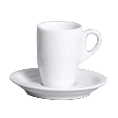 d-kore-porcelanas - Xícara de chá com pires branca 150ml