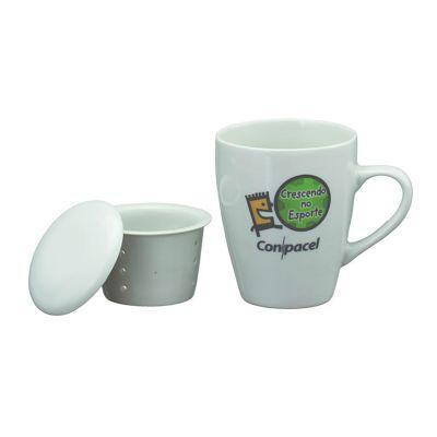 d-kore-porcelanas - Caneca cônica infusor.