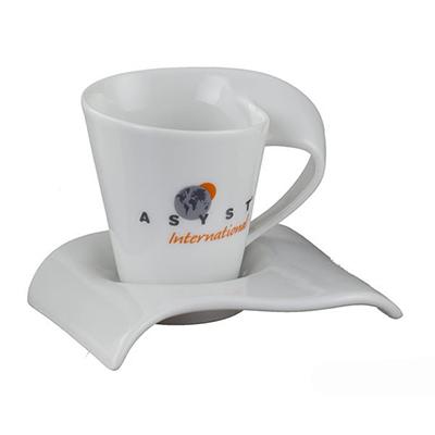 d-kore-porcelanas - Xícara de café com pires Havai 60ml.