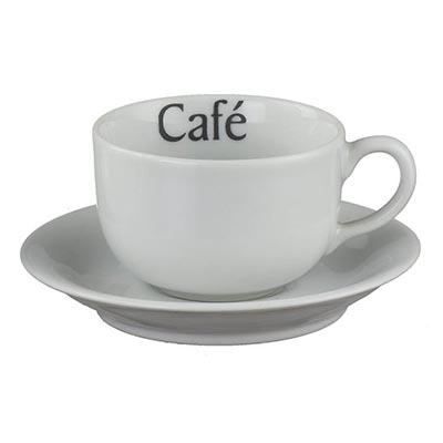 Xícara de café com pires Voyage 100ml. - D.Kore Porcelanas