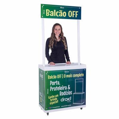BALCÃO PROMOCIONAL DEGUSTAÇÃO OFF