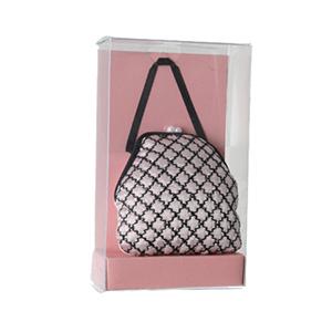For Import - Bolsa sachê rosa com alça preta
