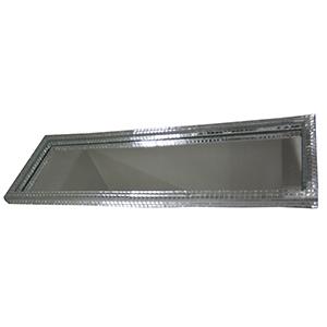 For Import - Bandeja espelhada com medidas de 37x12cm