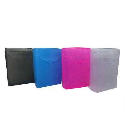 For Import - Porta hastes flexíveis, nas cores azul, rosa, transparente e fume é ideal para levar o produto na bolsa ou simplesmente guardar os mesmos em casa, o p...
