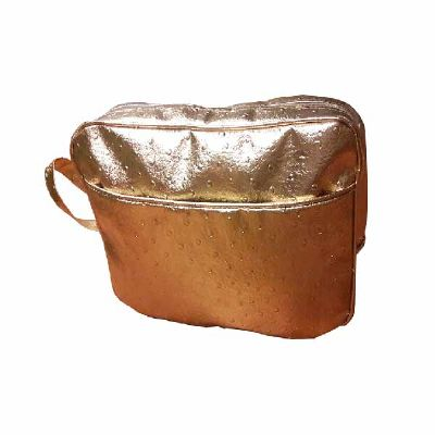 for-import - Necessaire bolsa dourada G