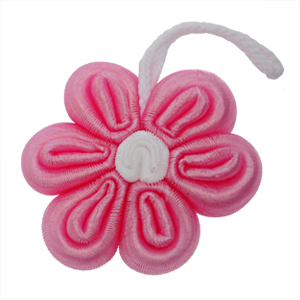 For Import - Esponja flor rosa.