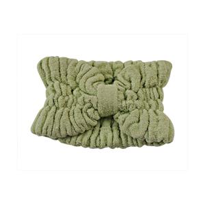 Faixa para cabelo em fibra de bambu - Verde.