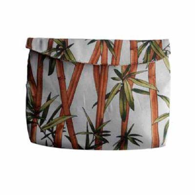 Necessaire tecido bambu
