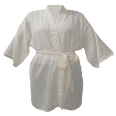 For Import - Roupão quimono off white tamanho médio