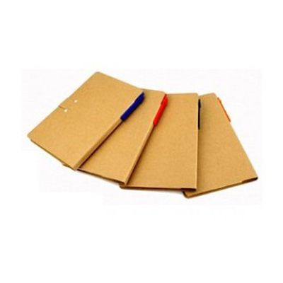ecobrindes - Bloco notas kraft sticky notes