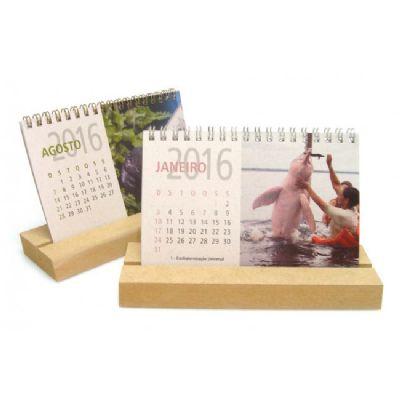 Ecobrindes - Calendário reciclato e MDF