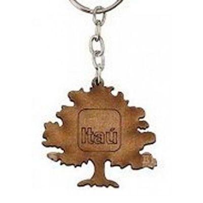 ecobrindes - Chaveiro mdf árvore