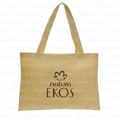 Ecobrindes - Ecobag algodão 40x30