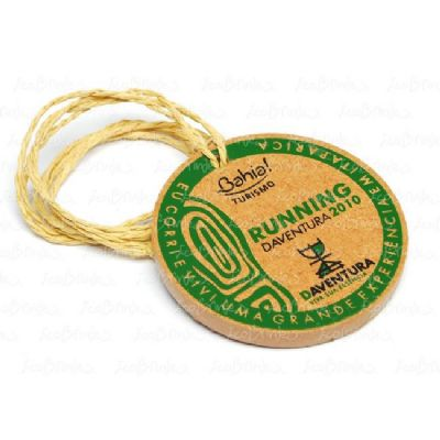 ecobrindes - Medalha em MDF giro