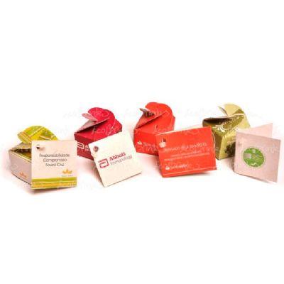 ecobrindes - Mini ecobox reciclato trevinho