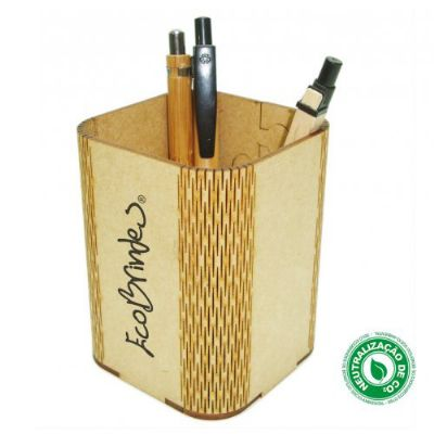 Porta-caneta quadrado Flex