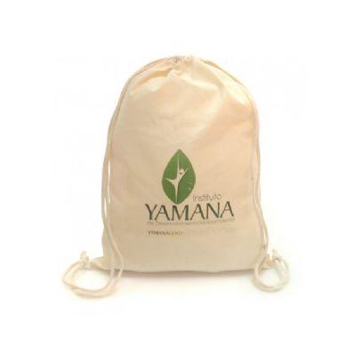 Mochila saco ecológica algodão
