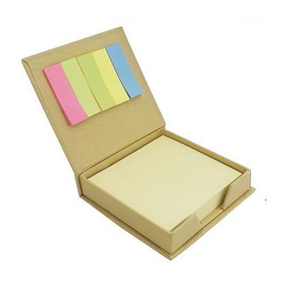 JKMN'S Brindes Promocionais - Bloco de anotações ecológico com notas adesivas