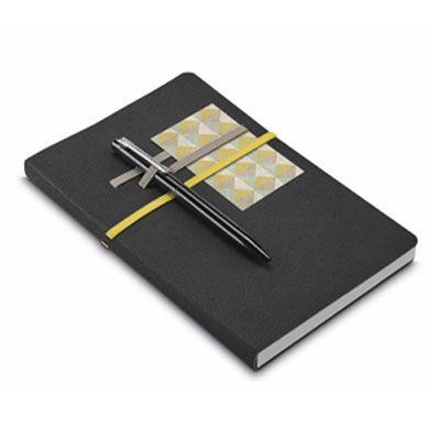 jkmns-brindes-promocionais - Caderno em couro sintético personalizado