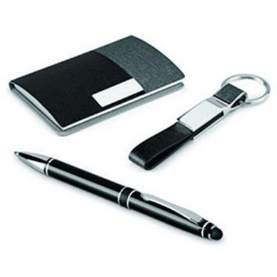 JKMN'S Brindes Promocionais - kit Executivo caneta porta cartão e chaveiro